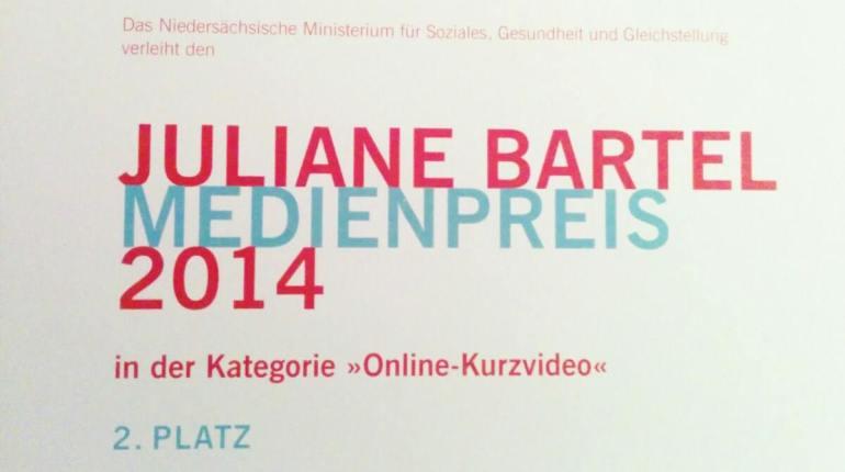 Juliane Bartels Preis